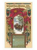 St Paul Coal Company Calendar  Minnesota