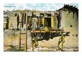 Pueblo Indian Home