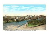 View of St Paul  Minnesota