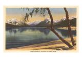 Lake McDonald  Glacier Park  Montana
