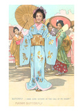 Scene from Madame Butterfly