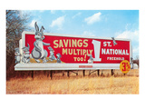 Billboard for Savings  Rabbits