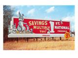 Billboard for Savings  Rabbits