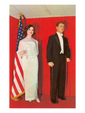 Wax Effigies of the Kennedys  Retro