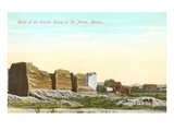 Ruins of Custom House  Tijuana  Mexico
