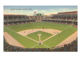 Briggs Stadium  Detroit  Michigan