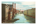 Hosiery Mills  Laconia  New Hampshire