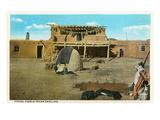 Pueblo Indian Dwelling