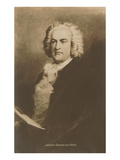Portrait of Johann Sebastian Bach