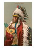 Tall Man Dan  Sioux Indian