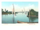 Sailboats  Lake Minnetonka  Minnesota