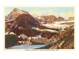 Grinnell Glacier  Glacier Park  Montana