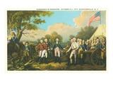 Surrender of Burgoyne  Revolutionary War