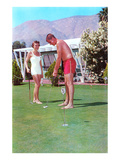 Golfing in Your Bathing Suit  Retro