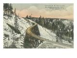 Famous S Railway Bridge  Cloudcroft  New Mexico