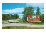 Billboard for Bemidji  Minnesota
