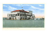 Boat Club  Detroit  Michigan