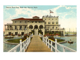 Boat Club  Belle Isle  Detroit  Michigan
