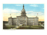 State Capitol  Lansing  Michigan