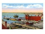 Docks  Duluth  Minnesota