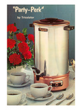 Party-Perk Coffee Urn  Retro