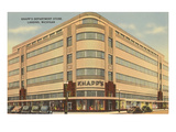 Knapps Department Store  Lansing  Michigan