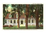 The Briers Mansion  Natchez  Mississippi