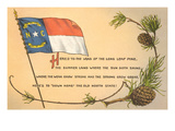 North Carolina Flag and Poem