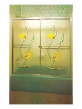 Angel Fish Shower Enclosure  Retro