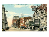 Douglas Street  Omaha  Nebraska