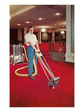 Carpet Cleaning in the Hotel