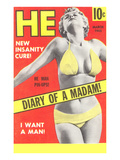 Men's Pulp Magazine Cover