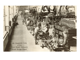 Assembly Line  Ford Factory  Michigan