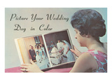 Advertisement for Wedding Photography