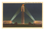 Night  Liberty Memorial  Kansas City  Missouri