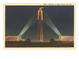 Night  Liberty Memorial  Kansas City  Missouri
