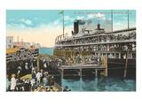 Ferry to Mackinac  Detroit  Michigan