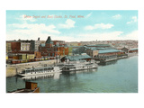 Union Depot and Docks  St Paul  Minnesota