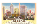 Detroit  Michigan  Automobile Capital of the World