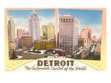 Detroit  Michigan  Automobile Capital of the World
