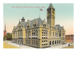 Post Office and Custom House  Omaha  Nebraska