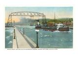 Iron Ore Boat  Duluth  Minnesota