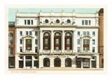 Opera House  Detroit  Michigan