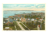 Overview of St Ignace  Michigan