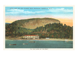 Lake Lure Inn  Chimney Rock Mountain  Asheville  North Carolina