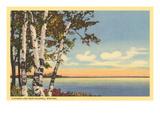 Flathead Lake near Kalispell  Montana