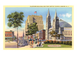 Telephone Building and Baptist Church  Newark  New Jersey
