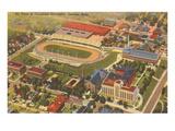 Aerial View of Creighton University  Omaha  Nebraska