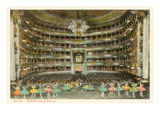 La Scala Opera House  Milan  Italy