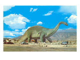 Roadside Brontosaurus